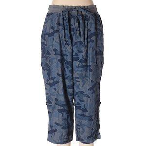 Woman Within Camo Cargo Pants NWOT